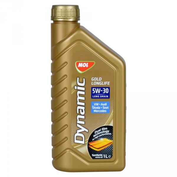 SLOVNAFT MOL Dynamic Gold Longlife 5W-30, 1L