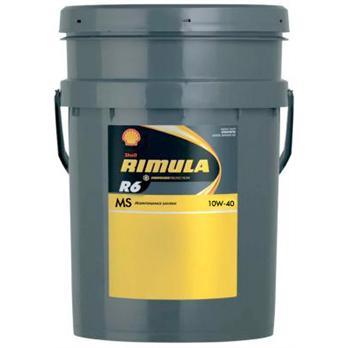SHELL Rimula R6 MS E7/LDF3 10W-40 20L