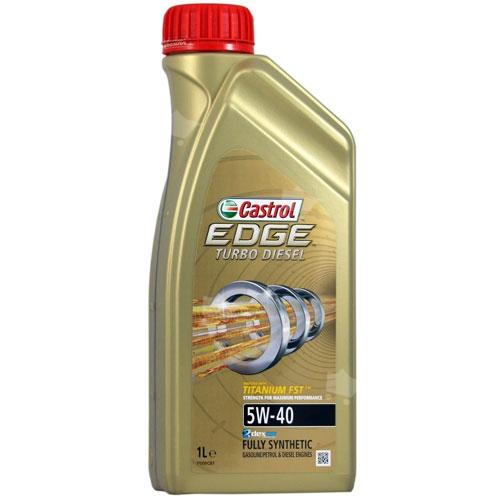 Castrol Edge Turbo Diesel 5W-40 1 l