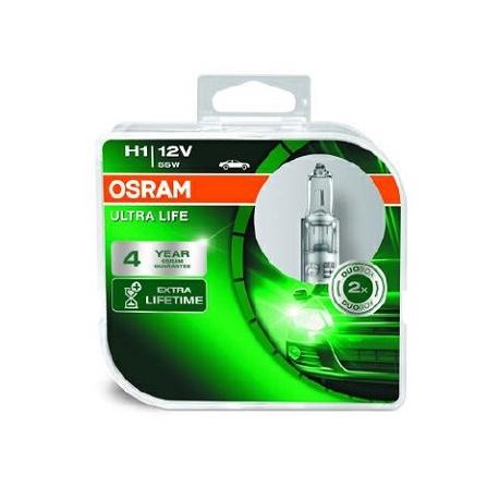 Osram Ultra Life H1 P14,5s 12V 55W 64150ULT-HCB 64150ULT-HCB