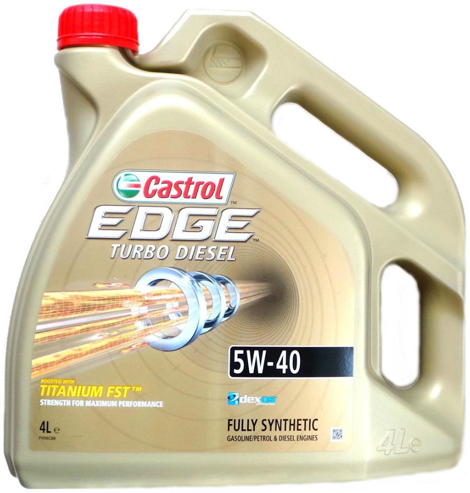 Castrol Edge Turbo Diesel 5W-40 4 l
