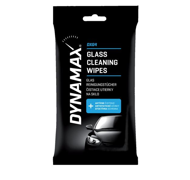 DYNAMAX DXG4 čistiace utierky na sklo