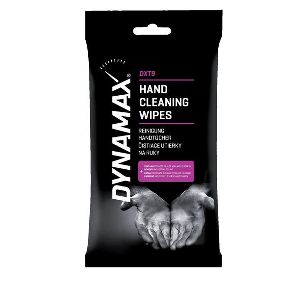 DYNAMAX DXT9 čistiace utierky na ruky