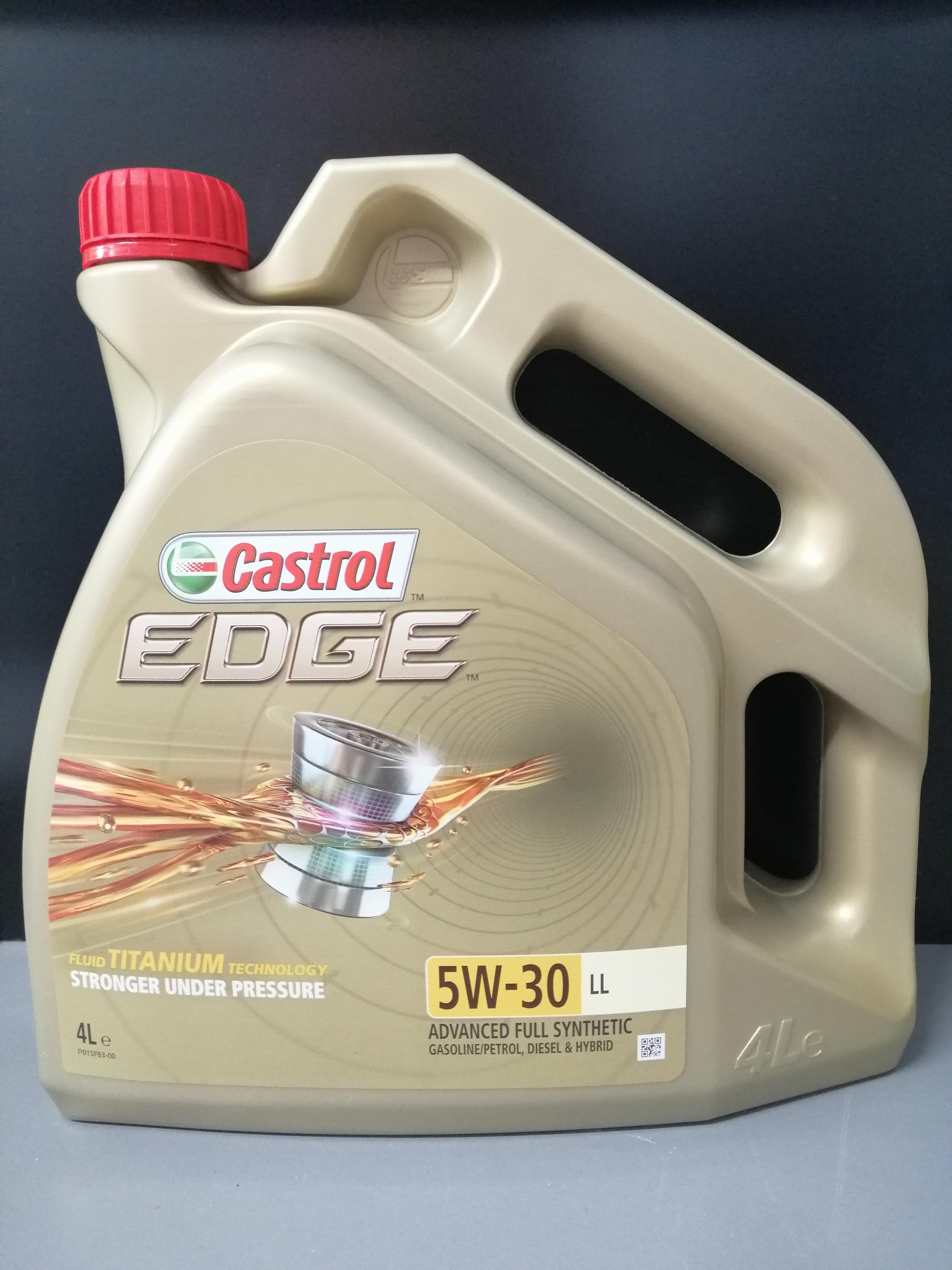 Castrol Edge Titanium FST LL 5W-30 4 l