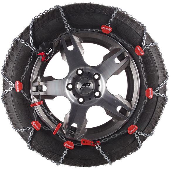Pewag Servo RS 75 – snehové reťaze pre športové vozidlá