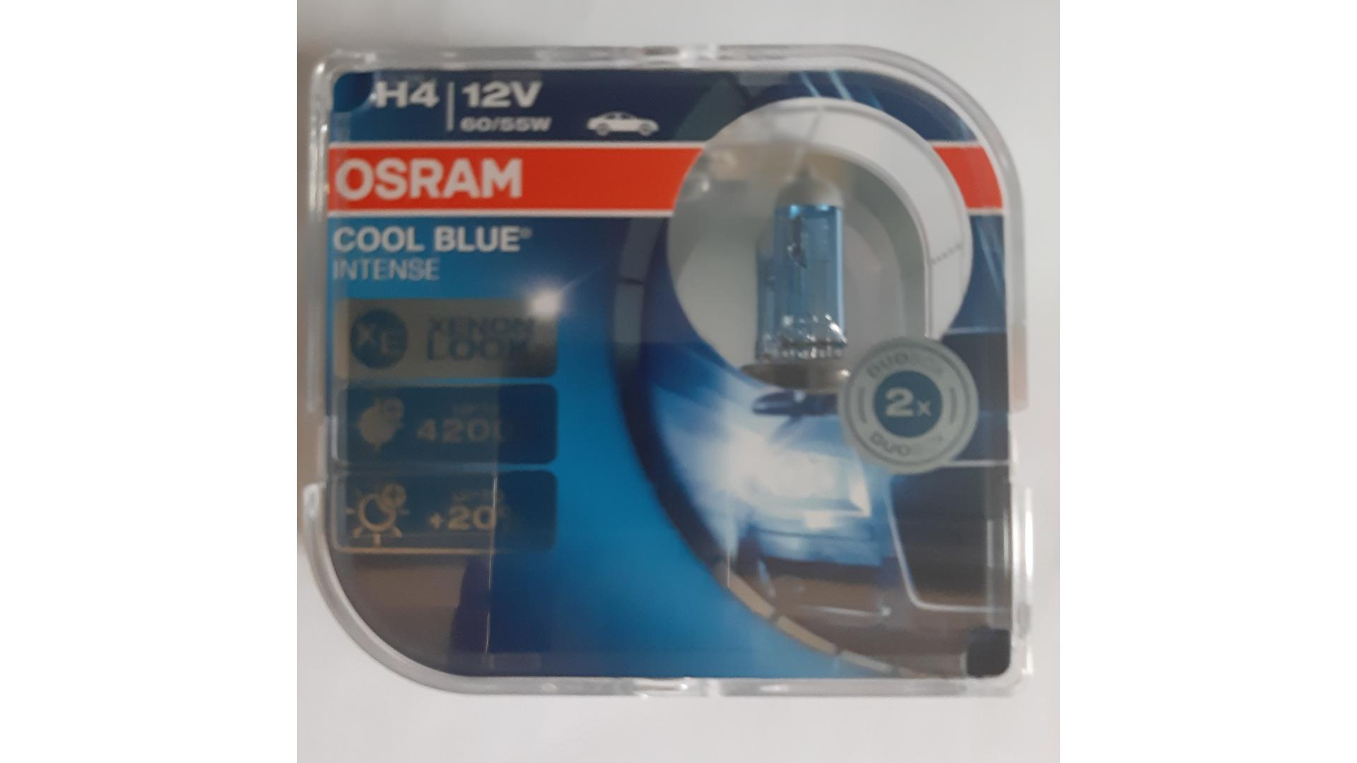 OSRAM Žiarovka 12V 60/55W P43T H4 COOL BLUE INTENSE BOX