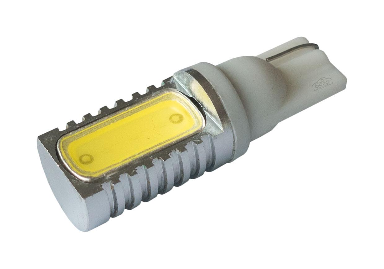 LED auto žiarovka T10/W5W biela Ceramic 180°
