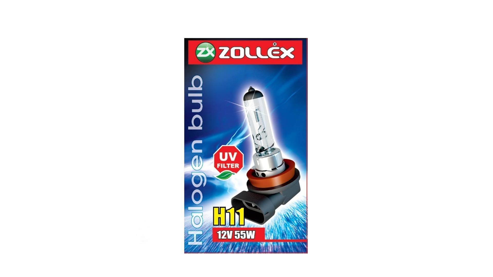 ZOLLEX Halogénová žiarovka H11 12V 55W pure vision (blue) 59524