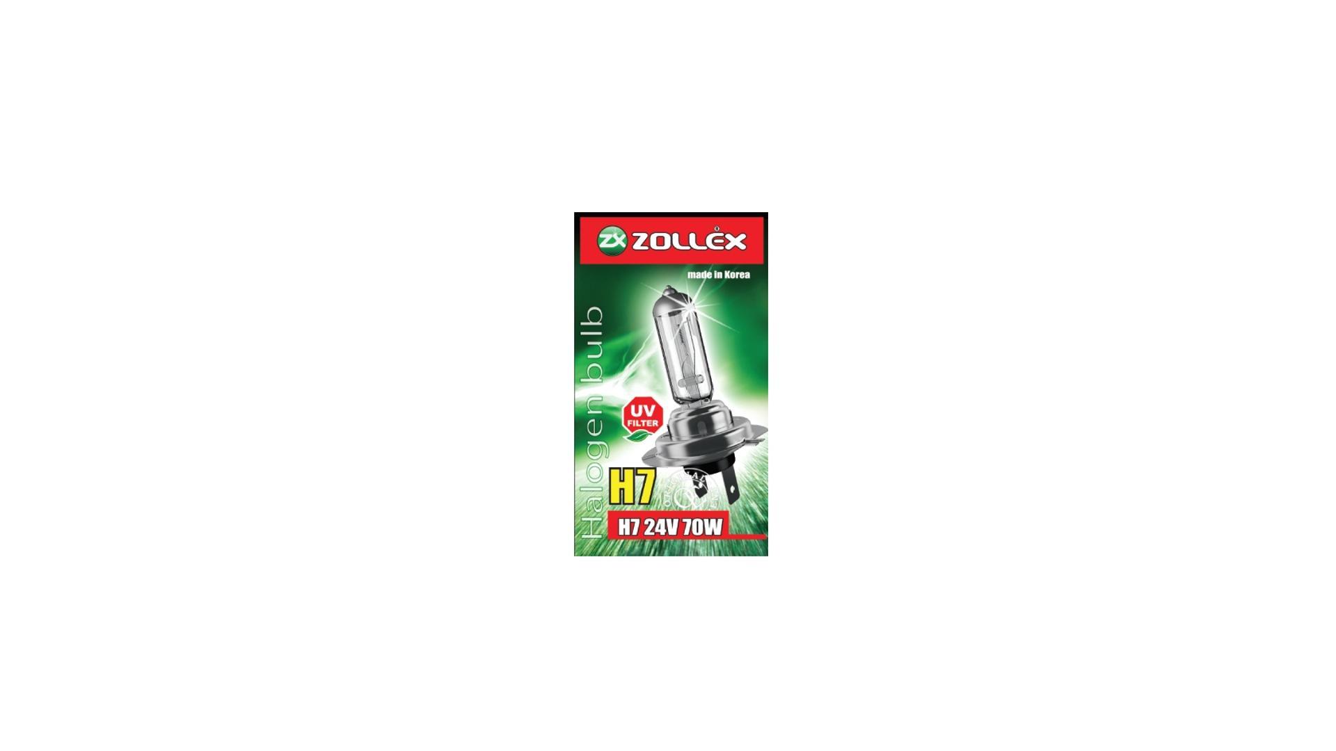 ZOLLEX Halogénová žiarovka H7 24V 70W 59994 Standard (freight program)