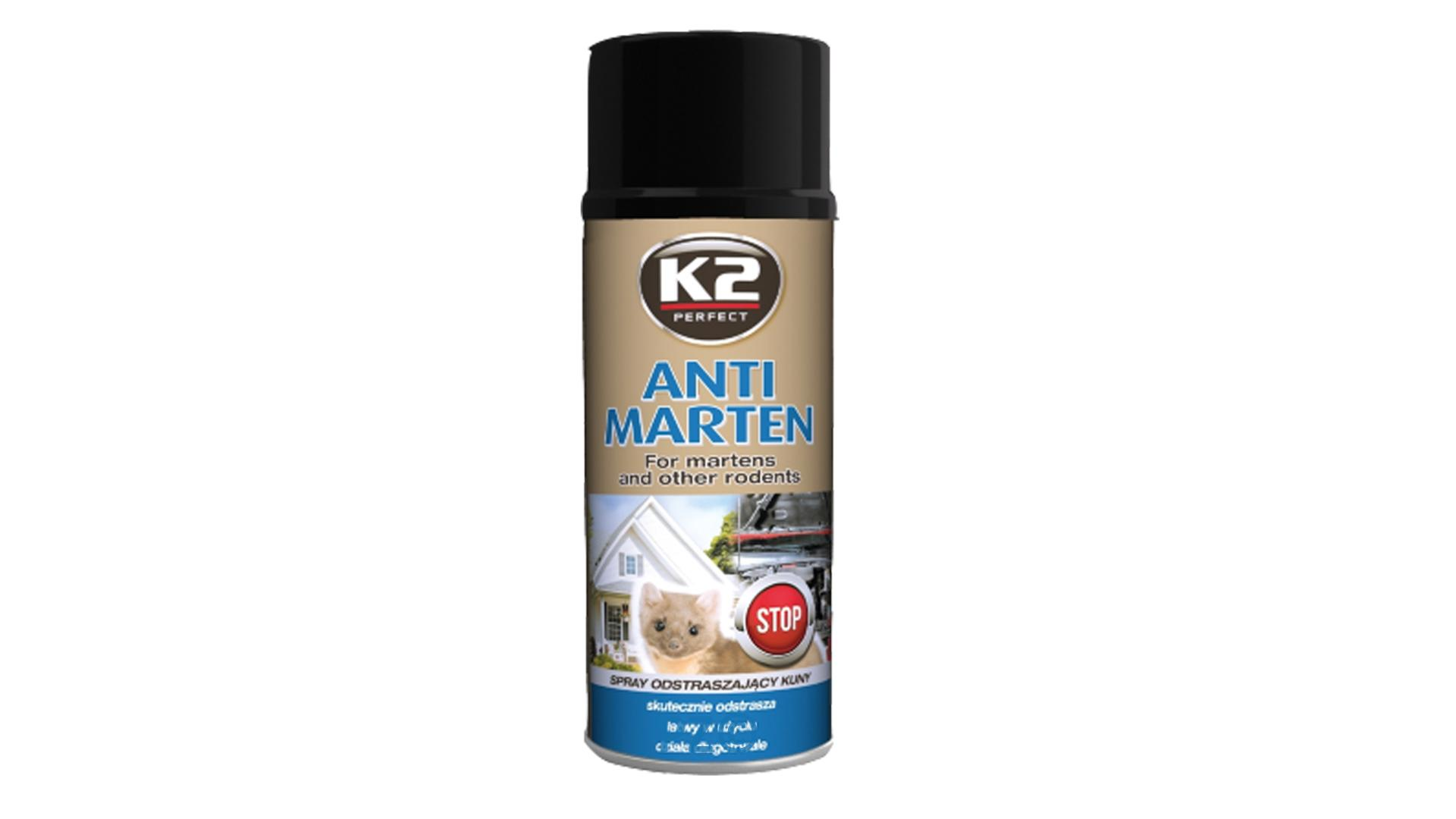 K2 ANTI MARTEN 400 ml - sprej odpudzujúci kuny