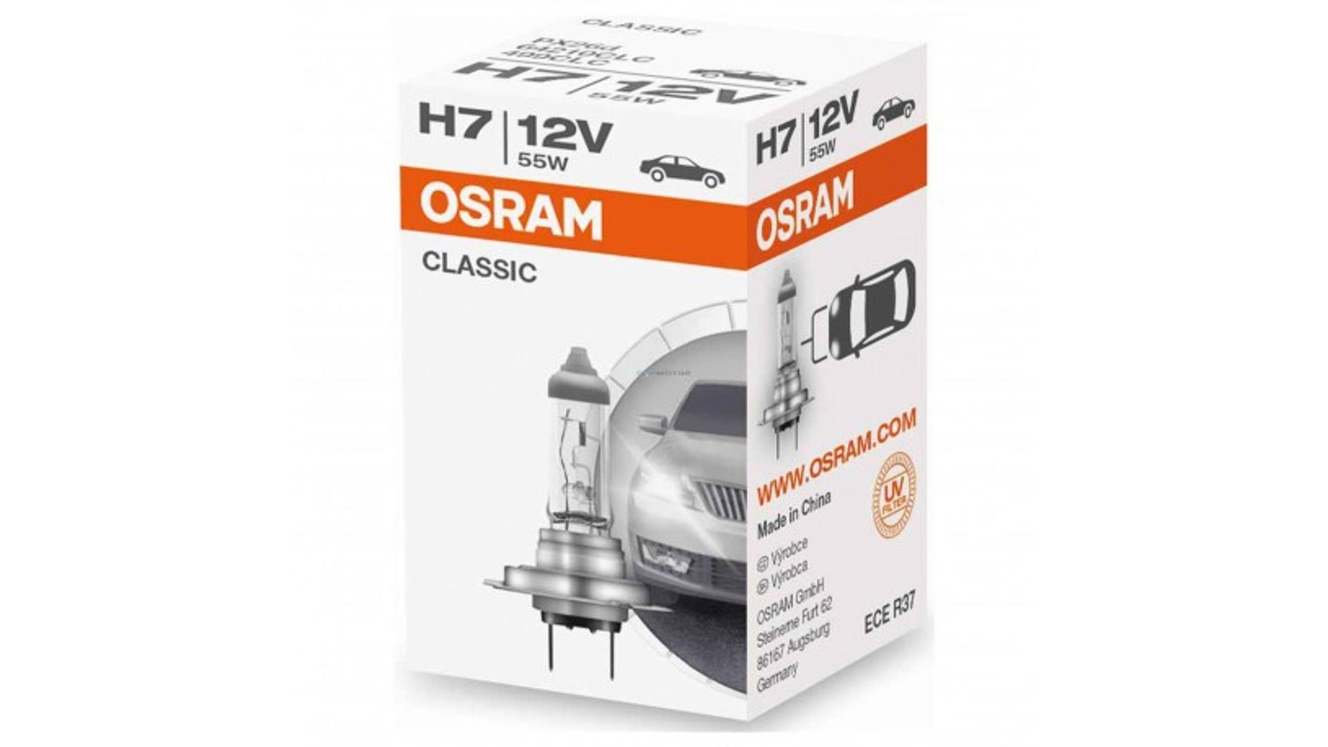 OSRAM Žiarovka H7 12V 55W PX26D