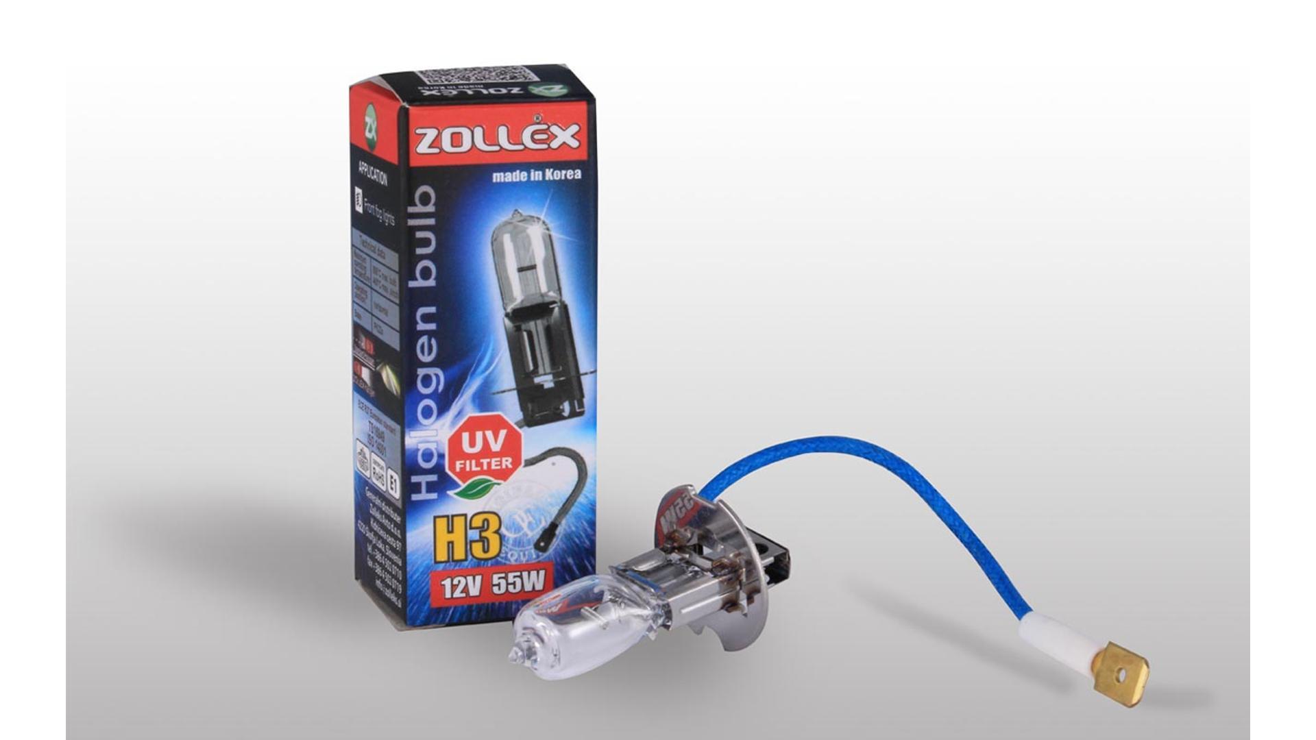 ZOLLEX Žiarovka H3 12V 55W štandard (9224)