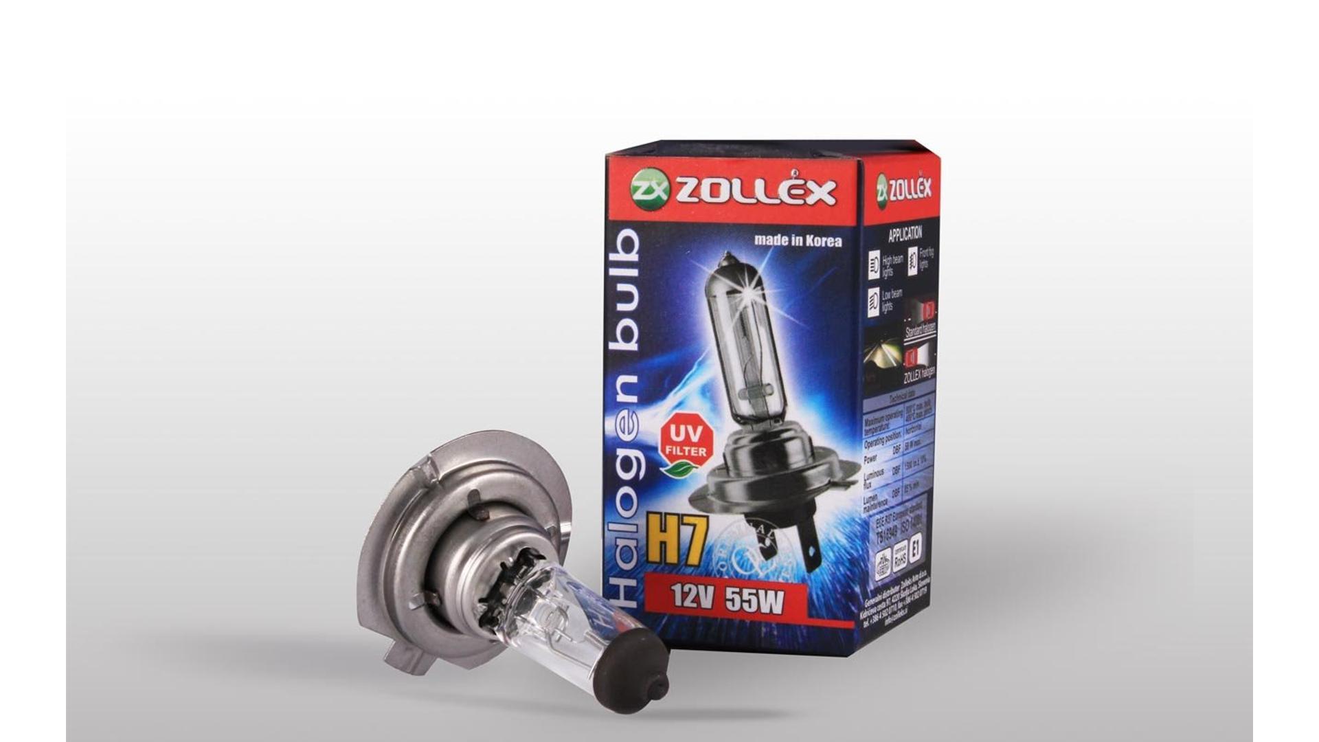ZOLLEX Žiarovka H7 12V 55W štandard (9624)