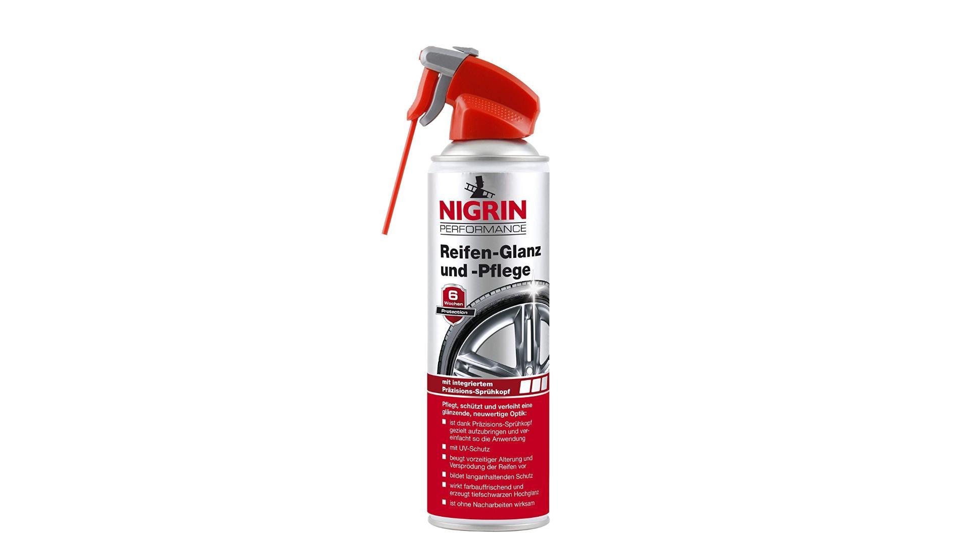NIGRIN Prípravok na leštenie a ošetrenie pneumatík 500ml