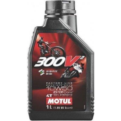 Motul 300V2 4T FACTORY LINE 10W-50 1L