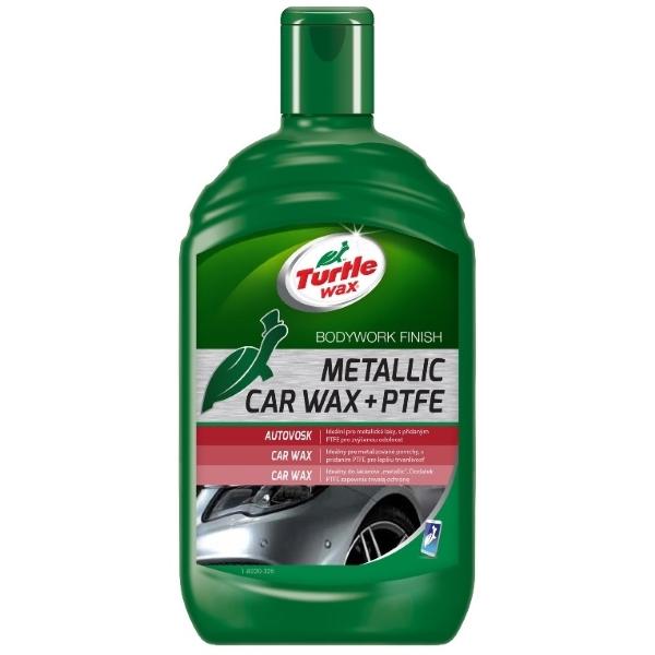 Turtle Wax Metallic Car Wax + PTFE 500ml
