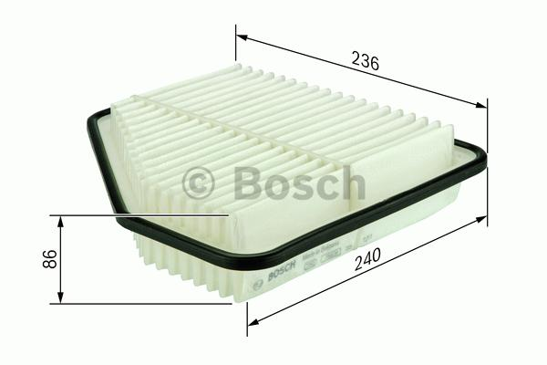 Vzduchový filter Bosch F026400176