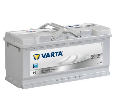 Varta Silver Dynamic 12V 110Ah 920A, 610 402 092