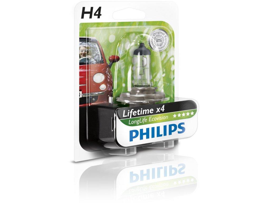 Philips LongLife EcoVision H4 12V 21/5W