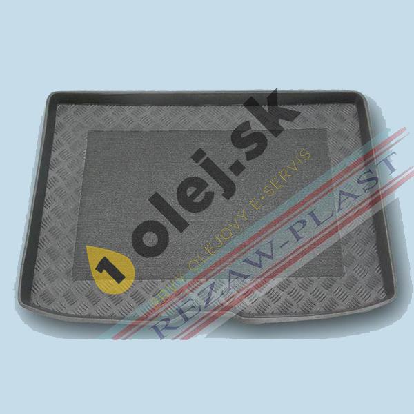 Koberce gumenné AUDI A3 3/5dv HB - SPORTBACK plná rezerva (2012-)