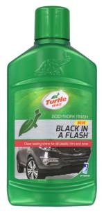 Turtle Wax Black In a Flash Gel 300ml
