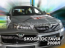 Zimná clona masky - Škoda Octavia II, 2007r.- 2013r. Horná