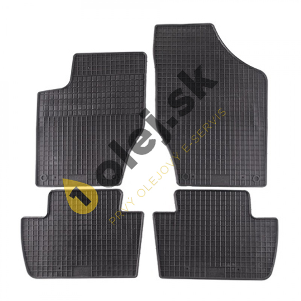 Koberce gumenné Citroen DS4 Hatchback 5 dverové (2011- )