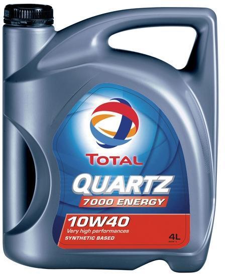 TOTAL QUARTZ 7000 ENERGY 10W-40 4L