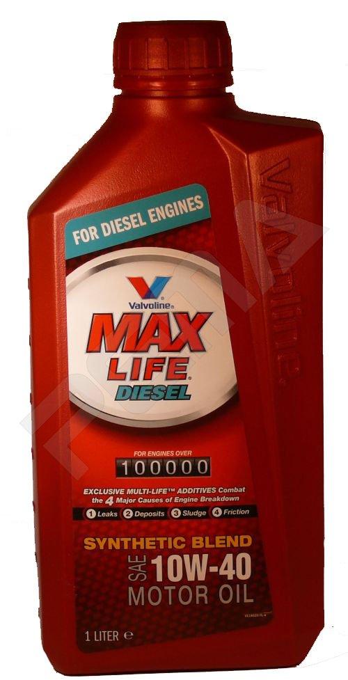Valvoline Max Life Diesel SAE 10W-40 1L