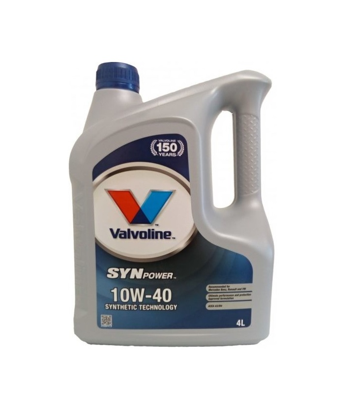 Valvoline SynPower SAE 10W-40 4L