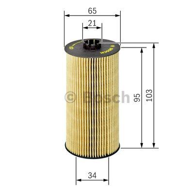 Olejový filter Bosch F 026 407 157