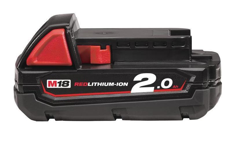 Akumulátor MILWAUKEE M18 B2 – 2.0Ah
