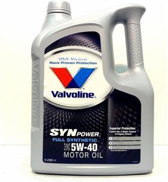 Valvoline Syn Power 5W-40 4L