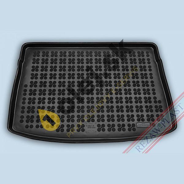Koberce gumenné Vaňa do kufra VW Golf VII Sportsvan (2014- ) horné dno