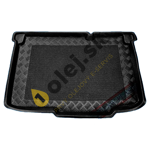 Koberce gumenné Vaňa do kufra Opel Corsa D (2006-2014) výbava Essentia dolné dno