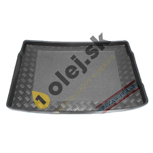 Koberce gumenné Vaňa do kufra VW Golf VI HatchBack (2009-2012) plnohodnotná rezerva