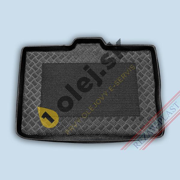 Koberce gumenné Vaňa do kufra Opel Meriva B (2014- ) horné dno s posuvnými zadnými sedadlami