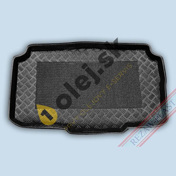Koberce gumenné Vaňa do kufra Opel Meriva B (2014- ) spodné dno s posuvnými zadnými sedadlami