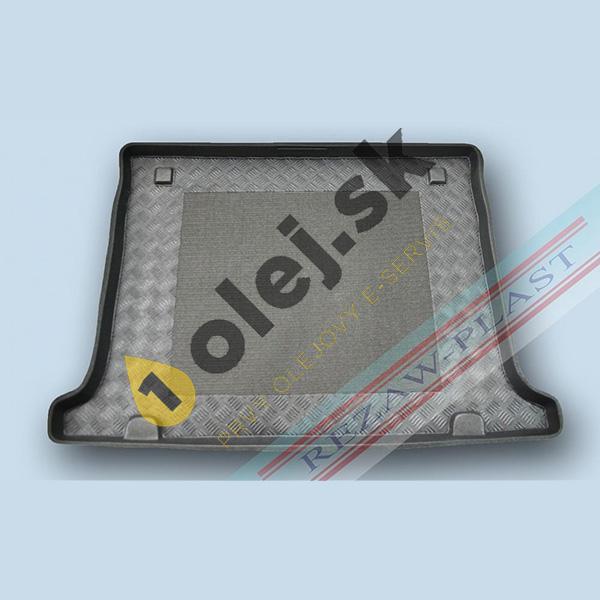 Koberce gumenné Vaňa do kufra Opel Combo D (2012- ) 5-miestny zadné dvere vyklápateľné
