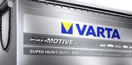 VARTA PRO MOTIVE SILVER 12V/180 Ah (M18)