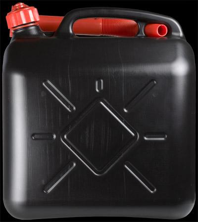 Sheron Kanister na PHM 10 lt čierny