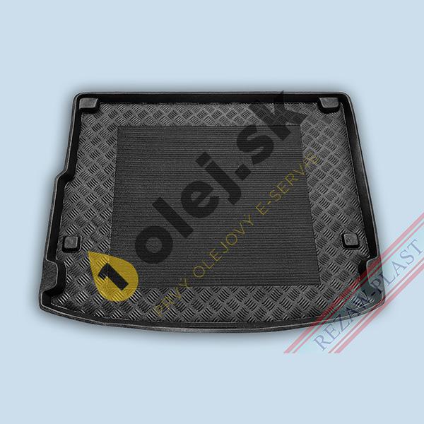 Koberce gumenné Vaňa do kufra Porsche Cayenne (2010- ) s BOSE hudobným systémom v kufri