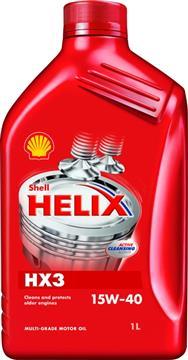 SHELL Helix HX3 15W-40 1L