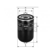 Palivový filter Mann Filter WK 719/5