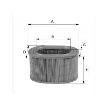 Vzduchový filter Filtron AE348/3