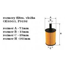 Olejový filter Bosch 1 457 429 192