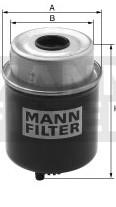 Palivový filter Mann Filter WK8148