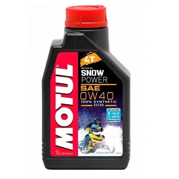 Motul SNOWPOWER 4T 0W-40 1L