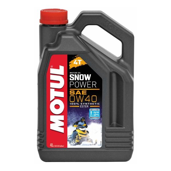 Motul SNOWPOWER 4T 0W-40 4L