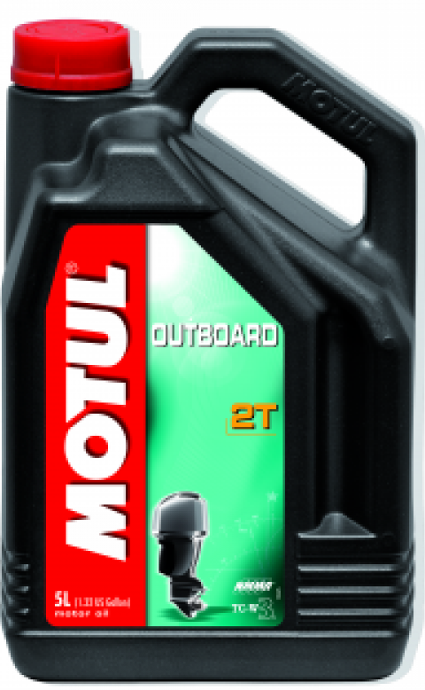 Motul OUTBOARD 2T, 5L